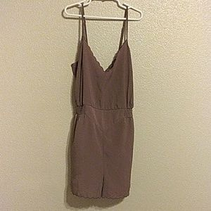 Urban outfitters Light brown romper